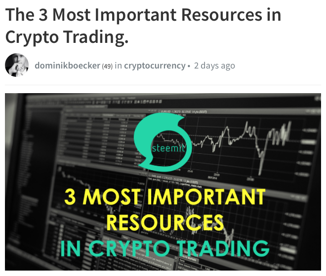 # Most Imprtant Crypto Resources